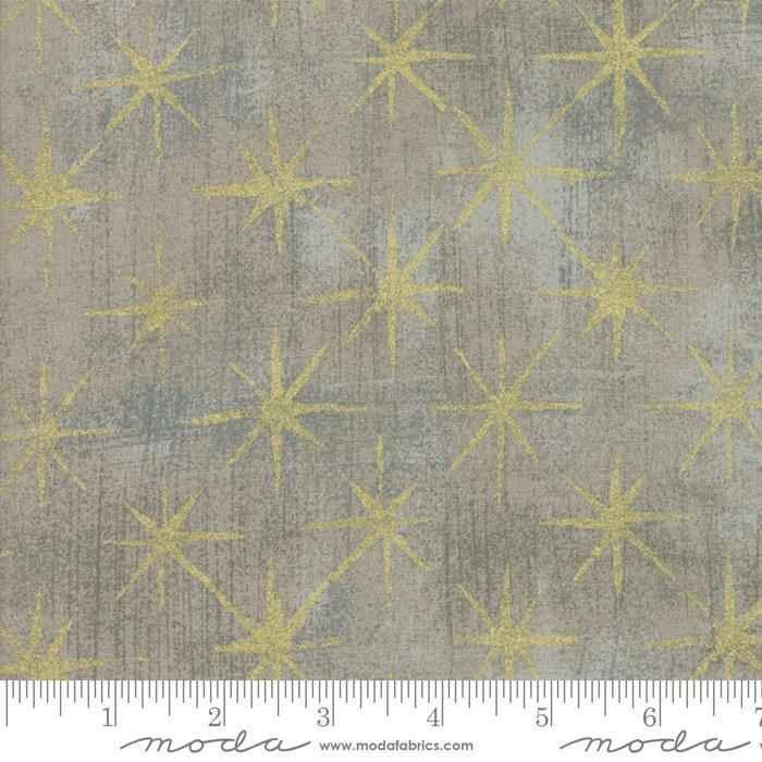 Grunge Seeing Stars - 530148M-47 Grey Coutur Metallic