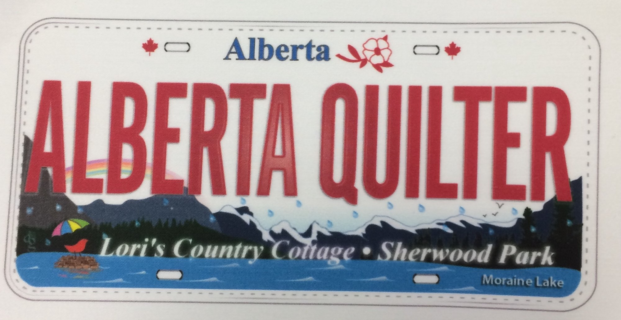 Alberta Licence Plate