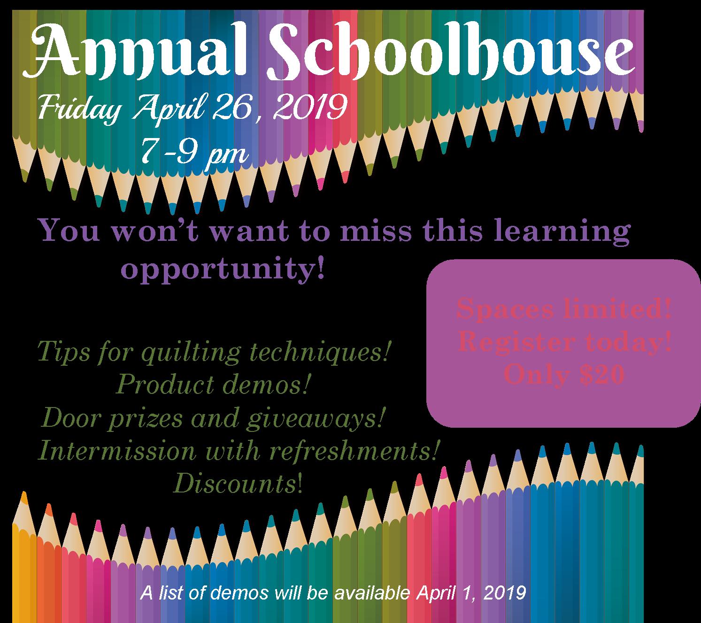 Annual Schoolhouse