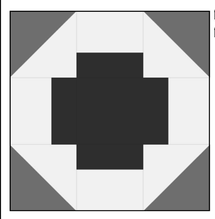 Block 16 Nehemiah (Greek Cross)