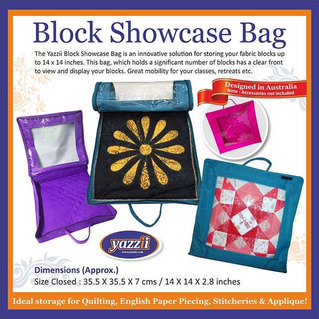 Yazzii Block Showcase Bag