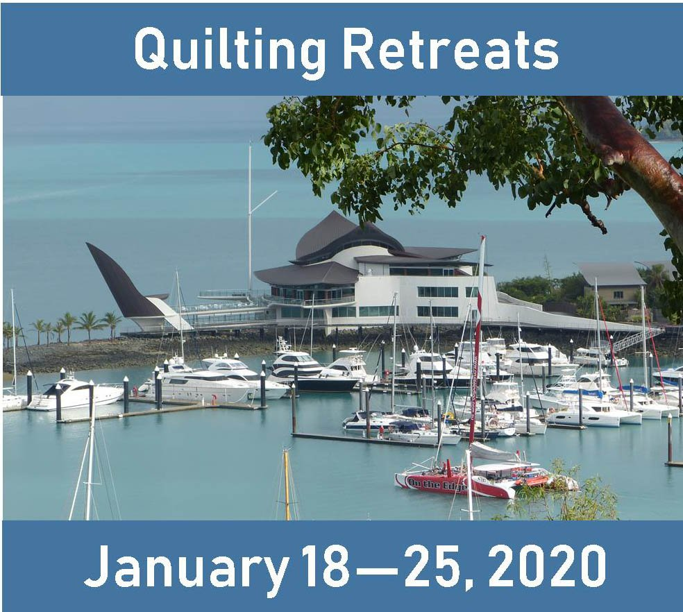 Quilt Cruise at Sea 2020 Jan. 17 - 25, 2020