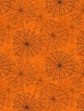 Gone Batty - 56065-891 - Spider Webs Orange