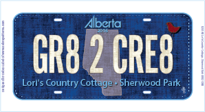 GR82CR8 Licence Plate