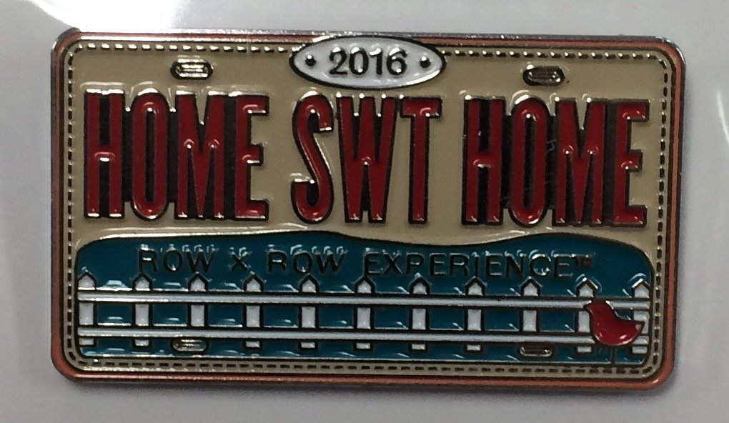 2016 Home Sweet Home Rectangle Pin