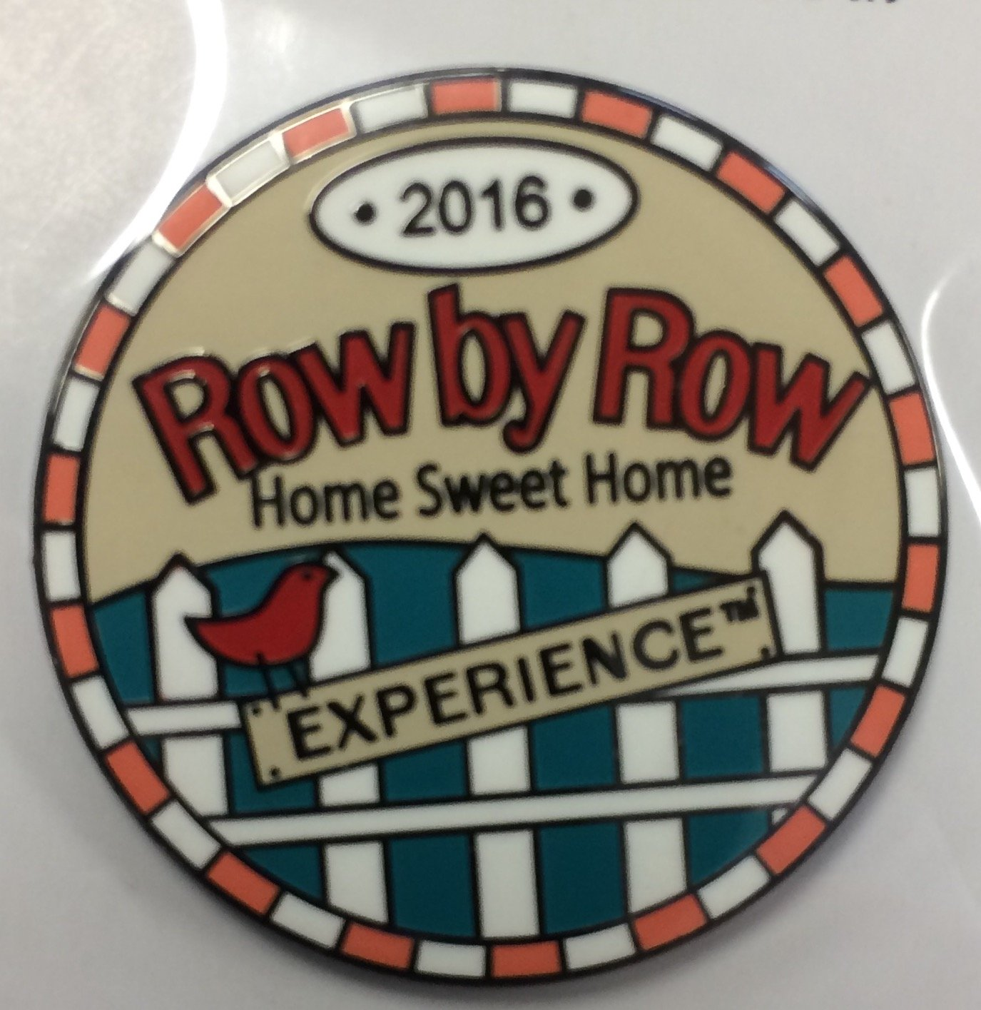 2016 Home Sweet Home Round Pin