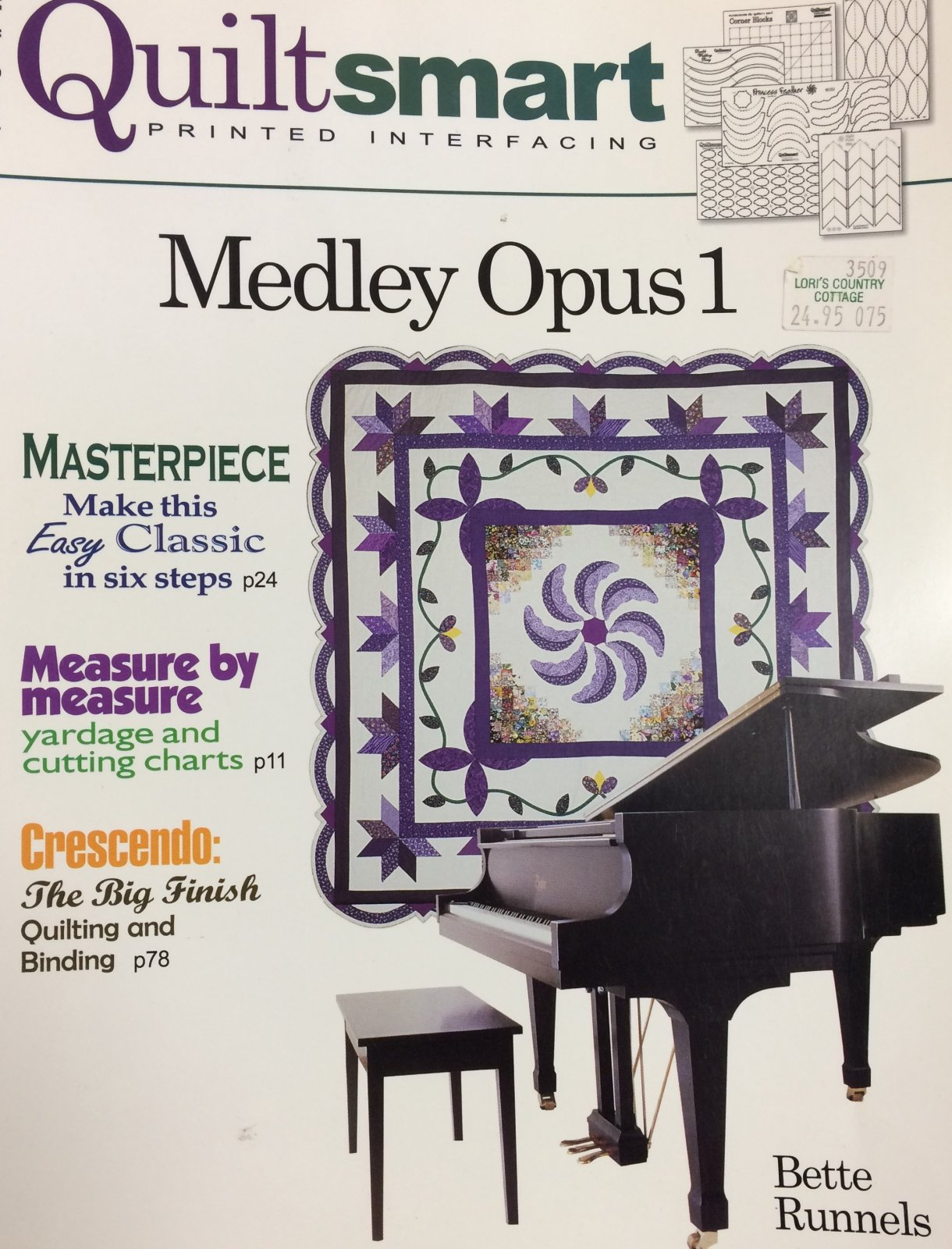 Medley Opus 1 - Only 1 Left