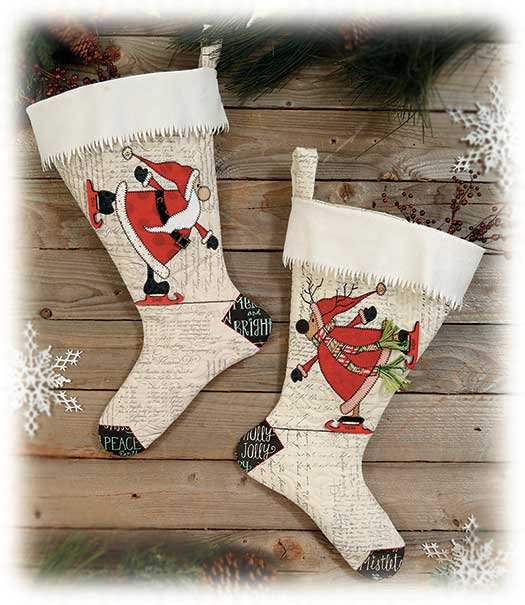 Merry & Bright Personalized Stocking