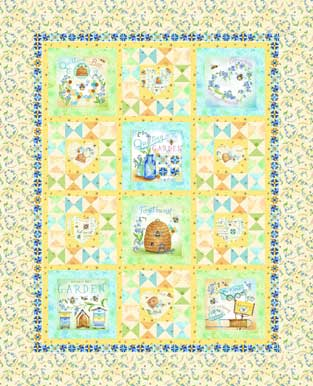 Quilting Bee Quilt Kit 55 x 68