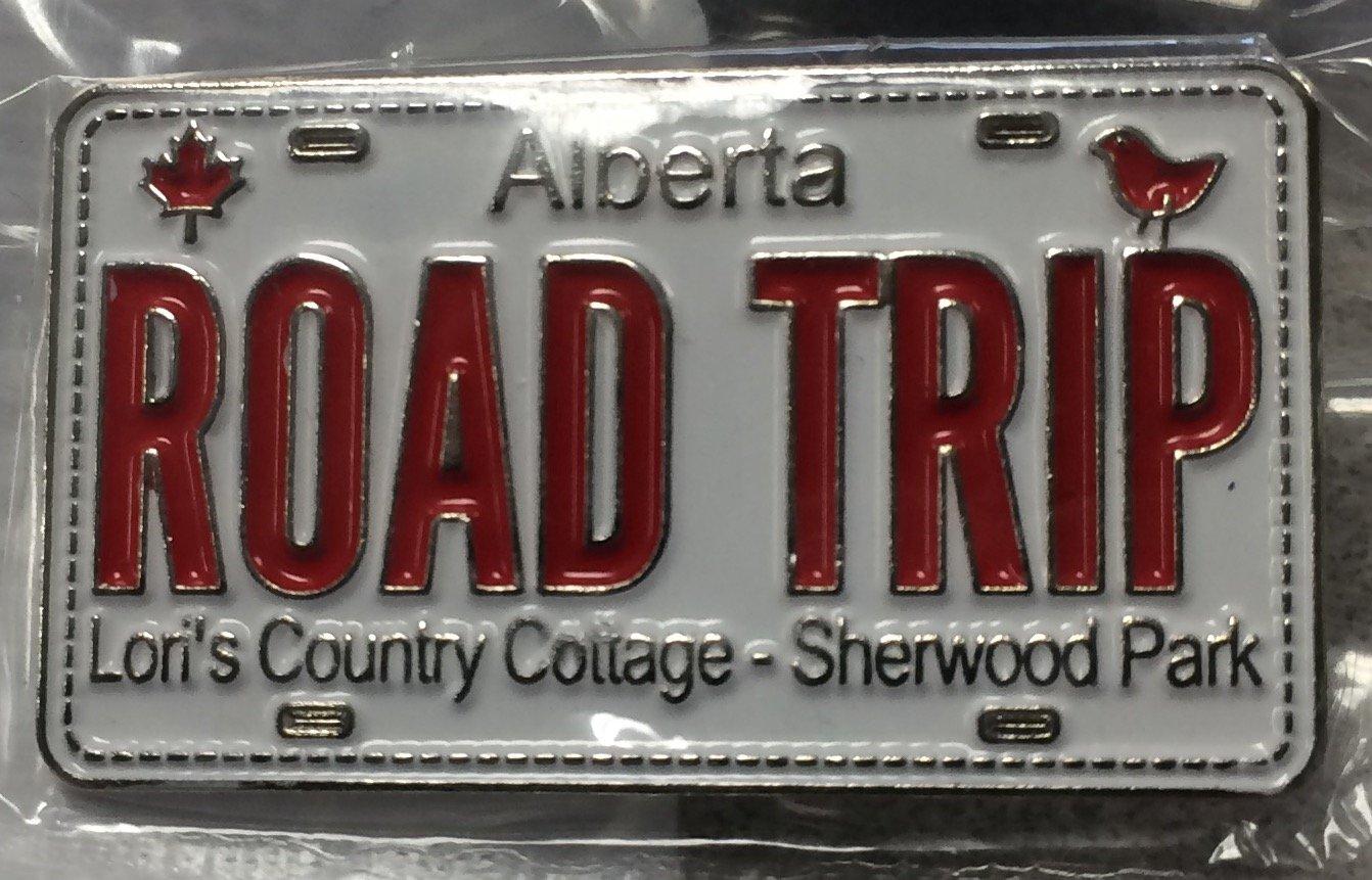 Road Trip Pin 2016