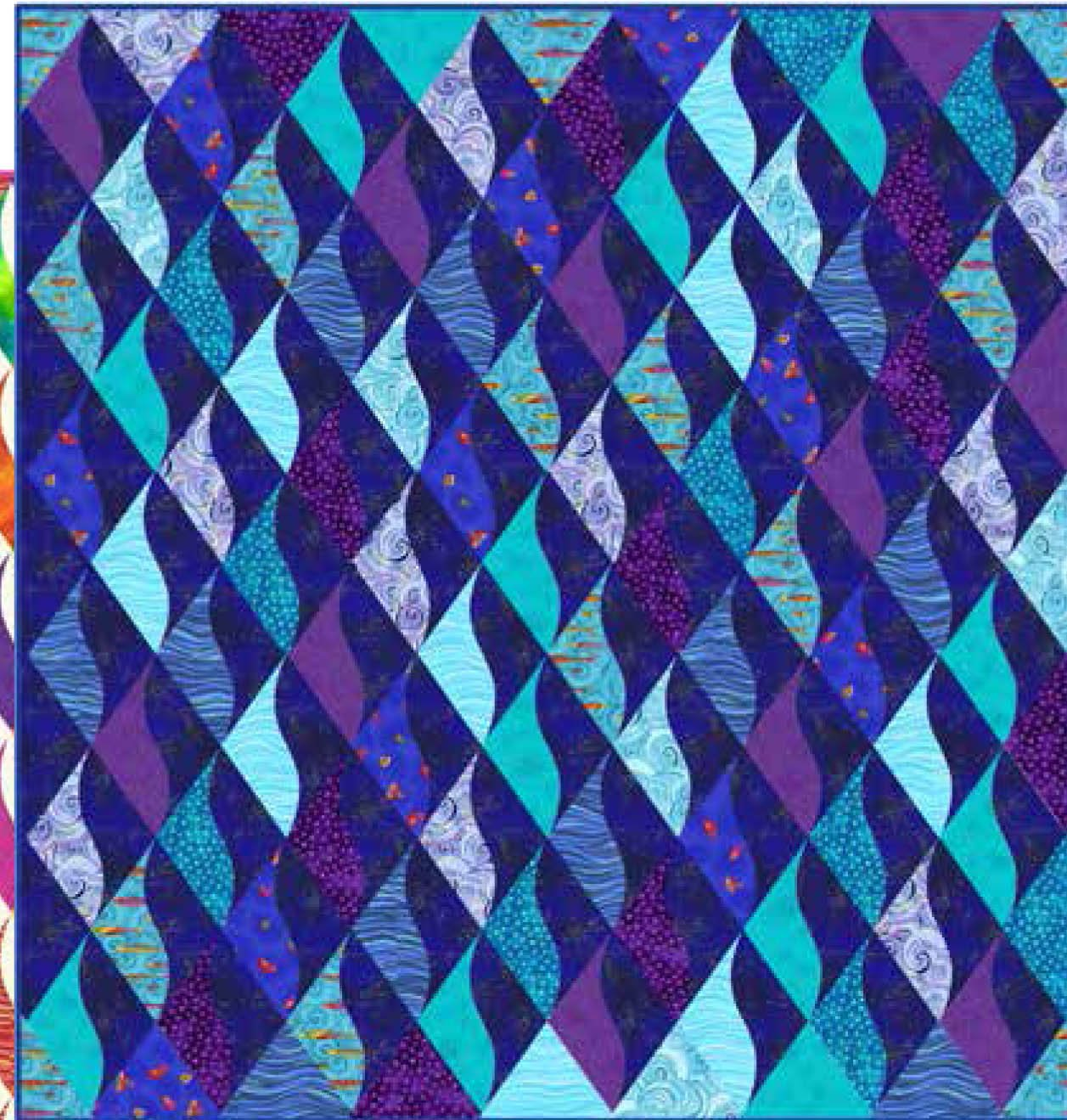 Dancing Diamonds Quilt