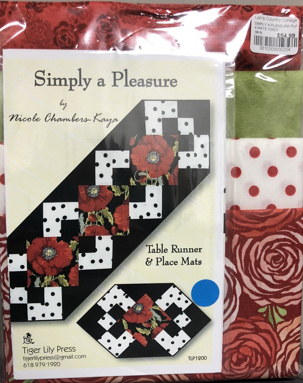 Simply A Pleasure Table Runner OR Placemats