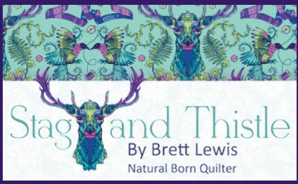 Stag & Thistle by Brett Lewis