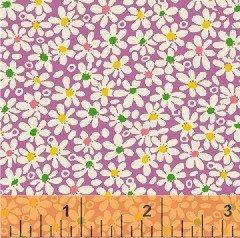 Purple Packed Ditzy Flowers feedsack VI  30917-7