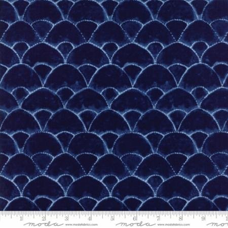 Shibori II Someagari Patch Neib Dark Blue 48013 12