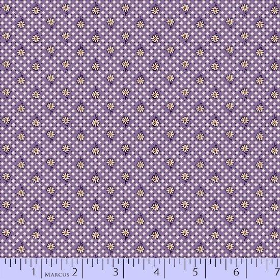 Aunt Grace Simpler Sampler Purple Ditzy Daisy 5861-0335