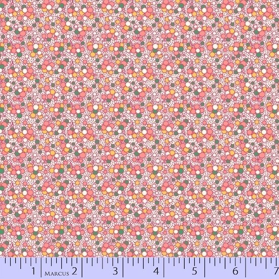 Aunt Grace Simpler Sampler Pink Bubbles 5863-0326