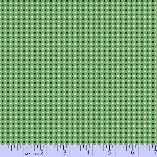 Aunt Grace Simpler Sampler Green Dots 5873-0314