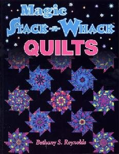 book magic stack n whack quilts  aqs704-6