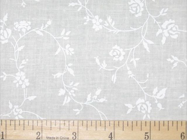 Quilt backing 108' White on Antique 42250-A02