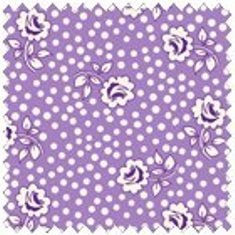 Kimberly's Garden Purple Floral Dot  FWDKIG06-LIL
