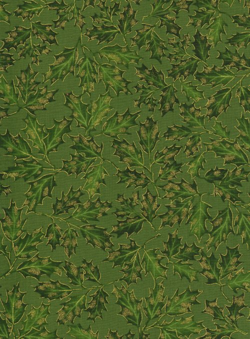 Holiday Green leaf  cm8787green