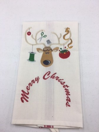 Kitchen Towels with Embrodiery