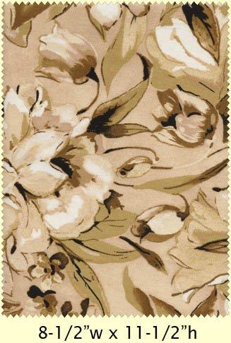 Love Flows Cream Floral  mas1963-e
