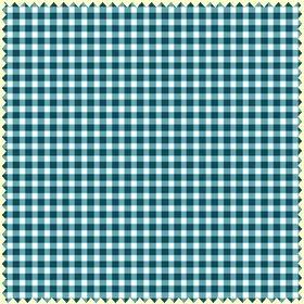 Ocean Blue Classic Check  mas610-n2