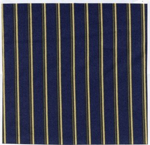Wild rose II Blue Stripe   mas7885-n