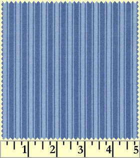 Blue Tonal Stripe wild rose basic  mas7895-b