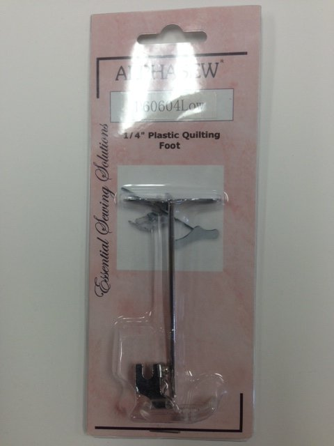 1/4 Plastic Quilting foot with guide   P60604 LOW