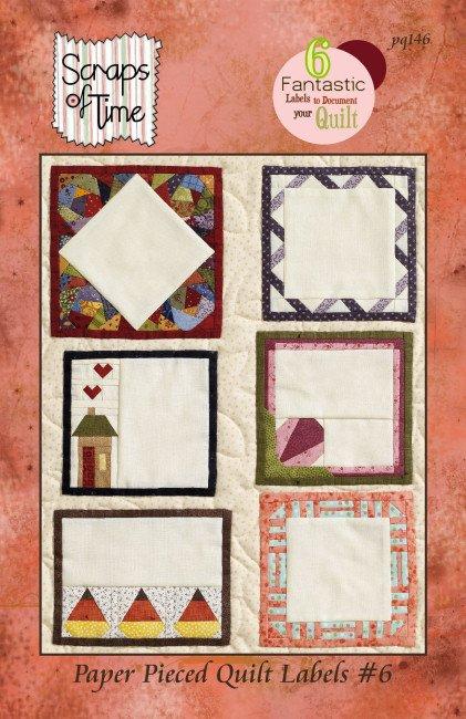 Paper Pieced Quilt Labels #6  pd146