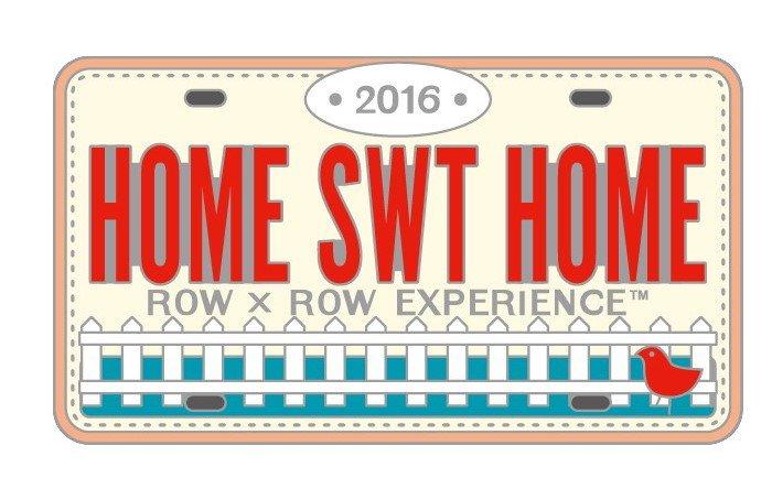 Row by Row 2016 Rectangle Logo Pin 18122