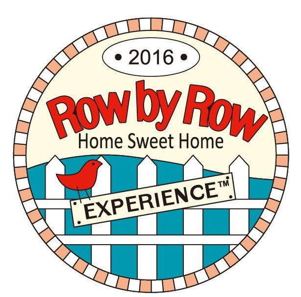 Row by Row 2016 Round Pin Logo Pin 18121