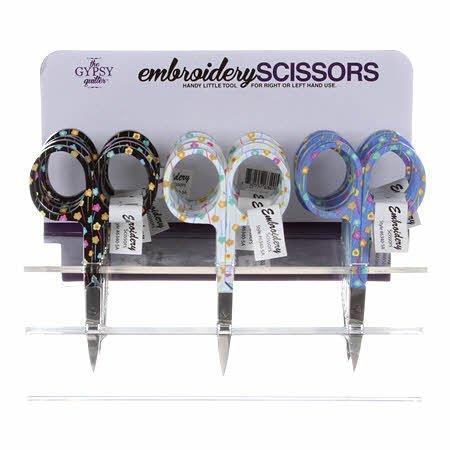 Emb Scissor 3 W/ FLower Head