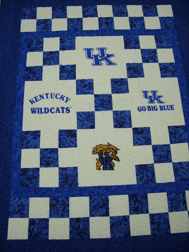 University of Kentucky Lap Quilt   UKKit
