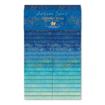 Artisan Spirit Blue Lagoon 40 2 1/2 strips