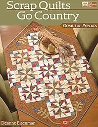 Scrap Quilts Go Country-DEANNE EISENMAN