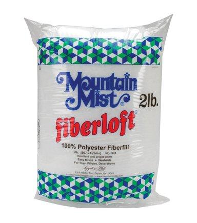 MOUNTAIN MIST  (2 lb.) 100% POLY FIBERFILL