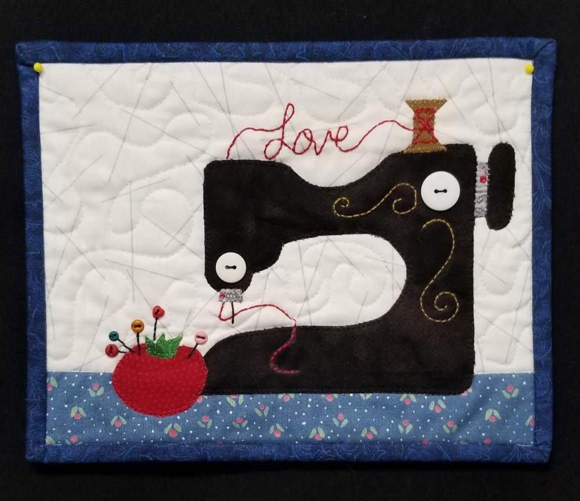 Sew in Love Mug Rug Kit