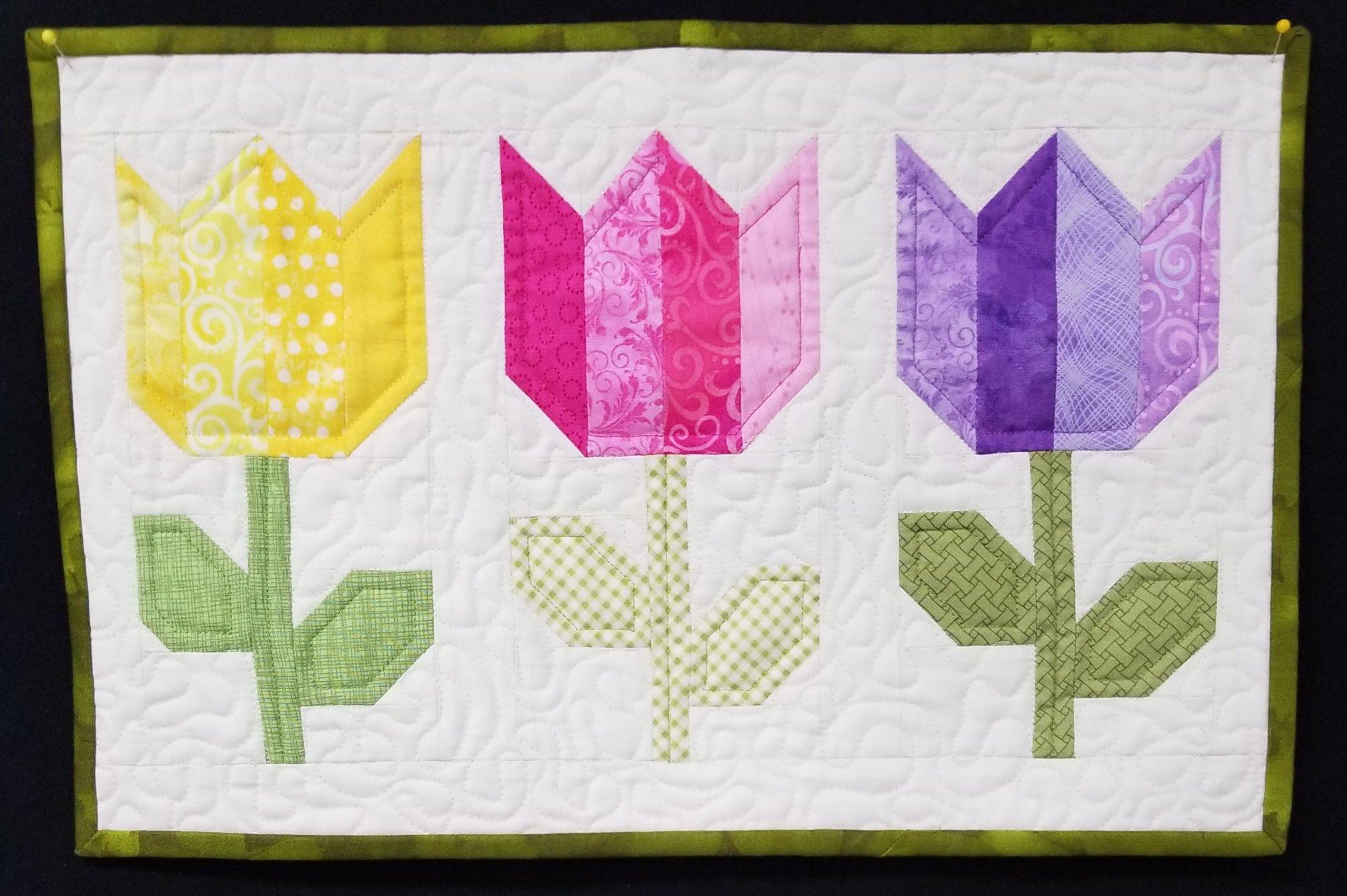 Tulip Market kit - Coriander Quilts