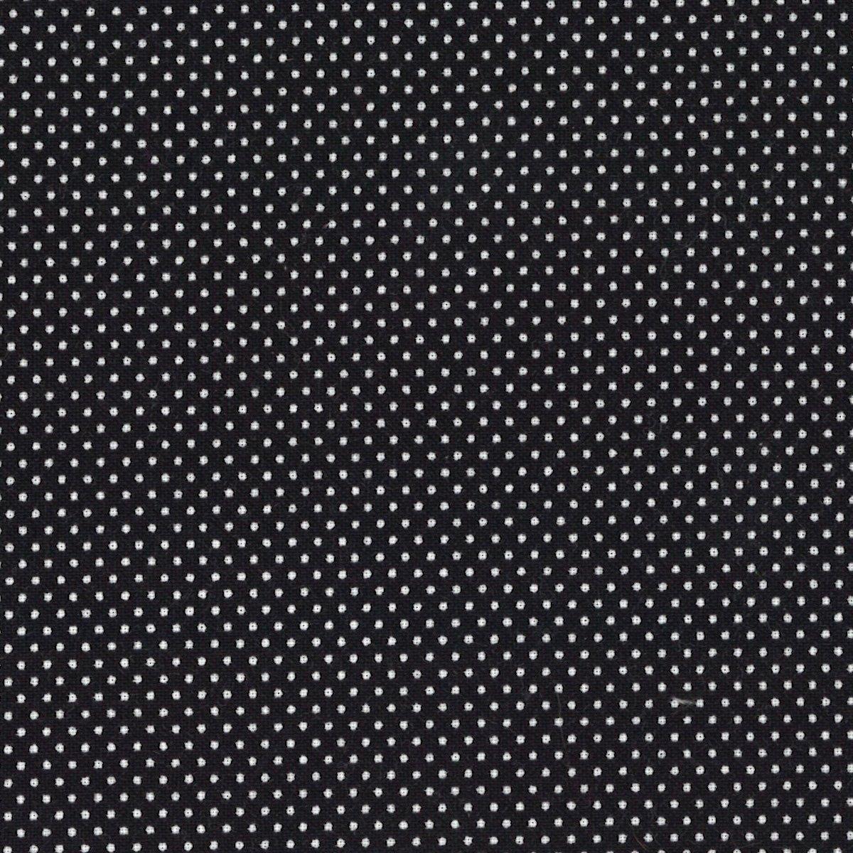 Micro Dots Blk/White