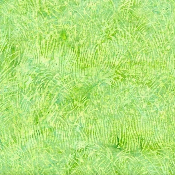 Batiks Grass Lt Lagoon