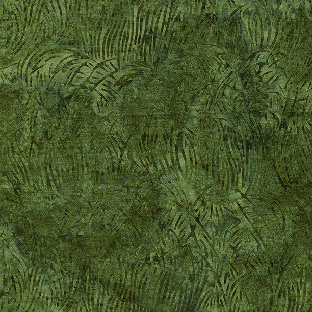 Batiks Seasons Shades Grass Juniper