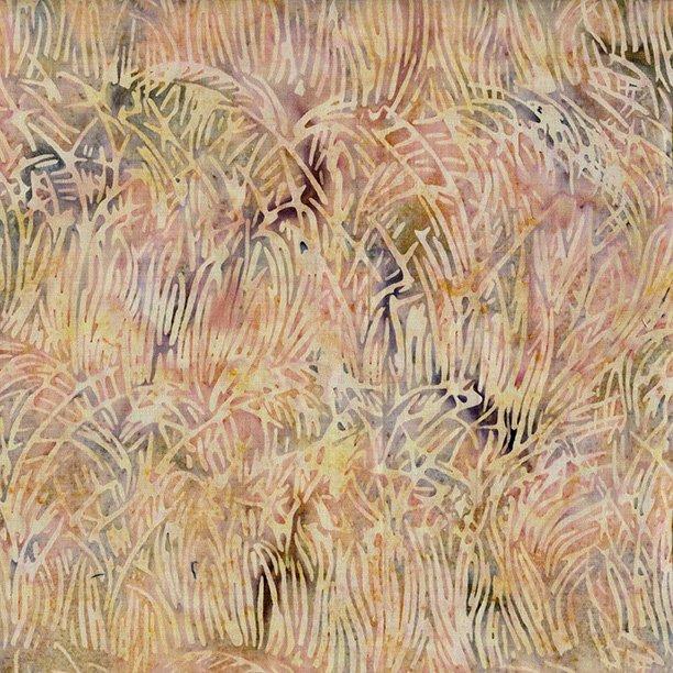 Batiks Seasons Shades Grass Peony