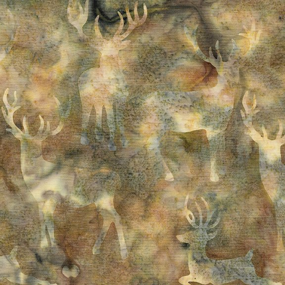 Batik Deer Grouping Desert