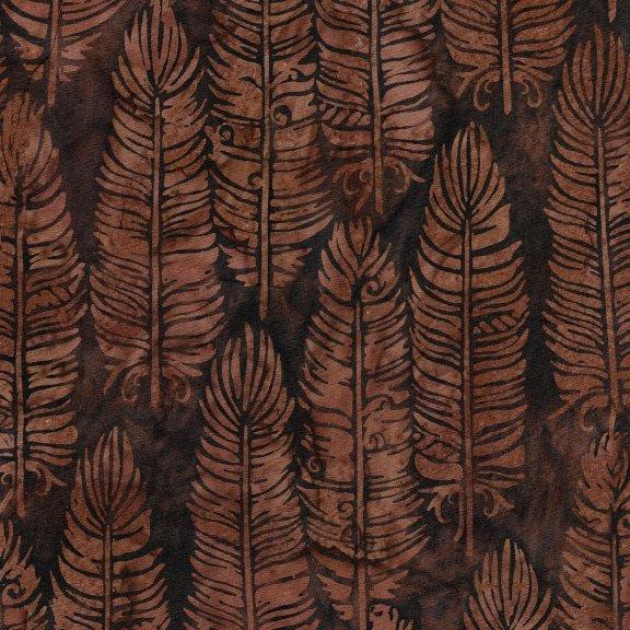 Batiks Santa Fe Vert Feathers Cap.