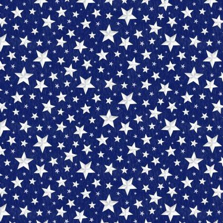 Berry Sweet Blue Stars