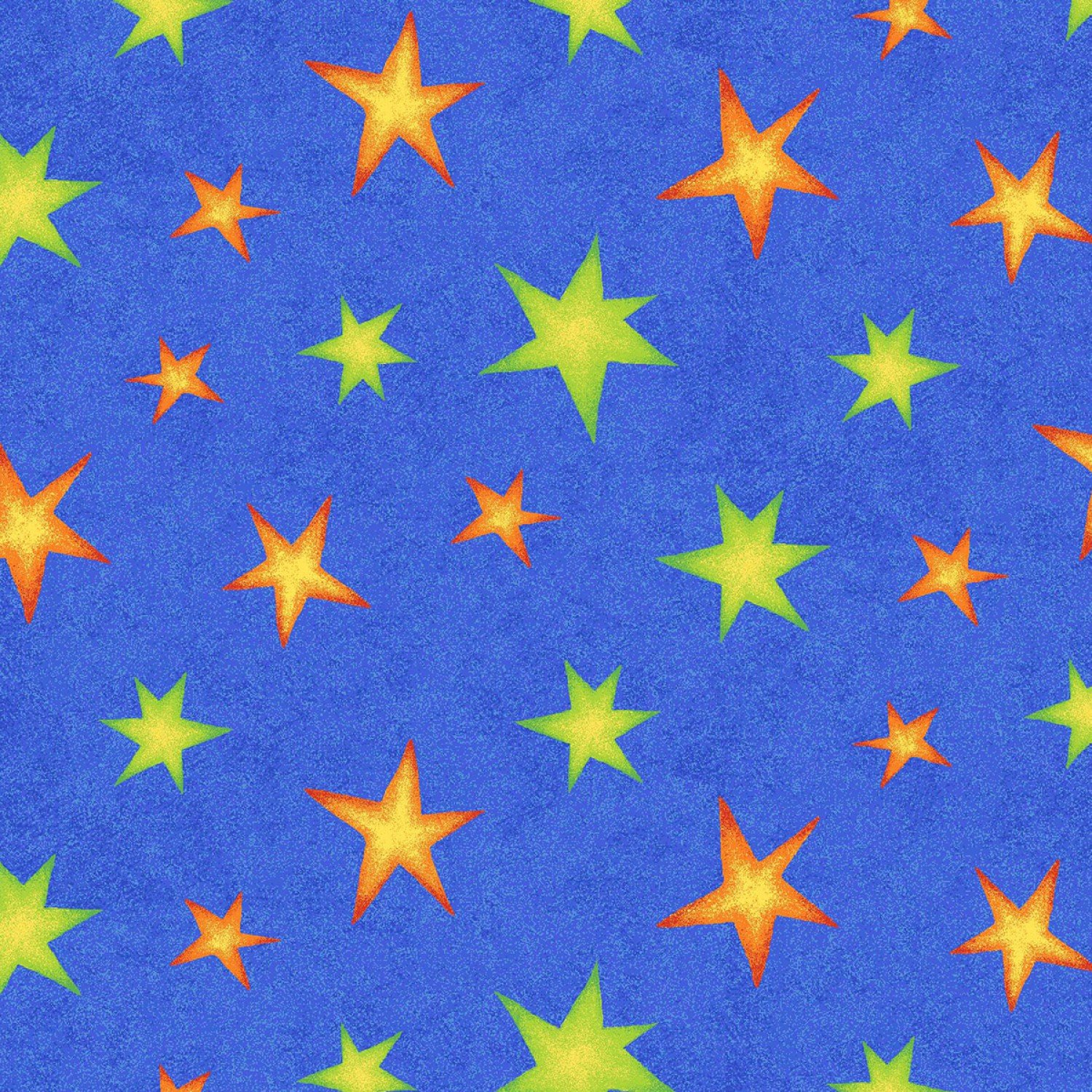 Spacey Blue Stars